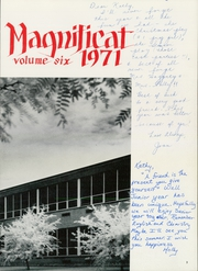 Page 7, 1971 Edition, Immaculata High School - Magnificat Yearbook (Somerville, NJ) online yearbook collection