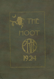 Park Ridge High School - Hoot Yearbook (Park Ridge, NJ) online yearbook collection, 1924 Edition, Page 1