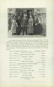 Page 10, 1924 Edition, Park Ridge High School - Hoot Yearbook (Park Ridge, NJ) online yearbook collection