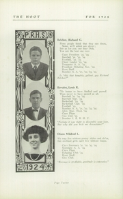 Page 14, 1924 Edition, Park Ridge High School - Hoot Yearbook (Park Ridge, NJ) online yearbook collection
