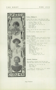 Page 16, 1924 Edition, Park Ridge High School - Hoot Yearbook (Park Ridge, NJ) online yearbook collection