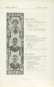 Page 17, 1924 Edition, Park Ridge High School - Hoot Yearbook (Park Ridge, NJ) online yearbook collection