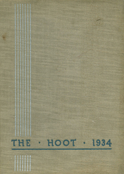 Page 1, 1934 Edition, Park Ridge High School - Hoot Yearbook (Park Ridge, NJ) online yearbook collection