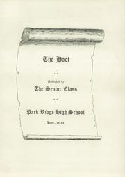 Page 7, 1934 Edition, Park Ridge High School - Hoot Yearbook (Park Ridge, NJ) online yearbook collection