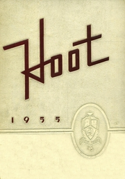 Park Ridge High School - Hoot Yearbook (Park Ridge, NJ) online yearbook collection, 1955 Edition, Page 1