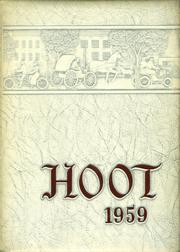 Park Ridge High School - Hoot Yearbook (Park Ridge, NJ) online yearbook collection, 1959 Edition, Page 1