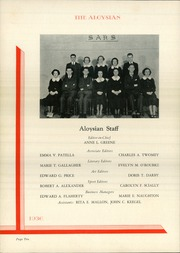 Page 14, 1936 Edition, St Aloysius High School - Aloysian Yearbook (Jersey City, NJ) online yearbook collection