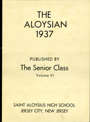 Page 7, 1937 Edition, St Aloysius High School - Aloysian Yearbook (Jersey City, NJ) online yearbook collection