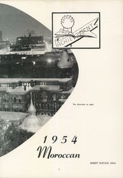 Page 11, 1954 Edition, University of Tampa - Moroccan Yearbook (Tampa, FL) online yearbook collection