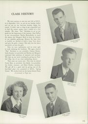 Page 13, 1947 Edition, Belvidere High School - Clarion Yearbook (Belvidere, NJ) online yearbook collection