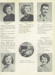 Page 15, 1952 Edition, Belvidere High School - Clarion Yearbook (Belvidere, NJ) online yearbook collection