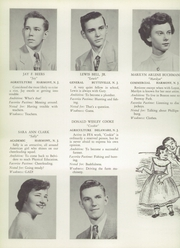 Page 16, 1952 Edition, Belvidere High School - Clarion Yearbook (Belvidere, NJ) online yearbook collection