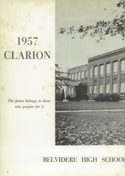 Page 6, 1957 Edition, Belvidere High School - Clarion Yearbook (Belvidere, NJ) online yearbook collection