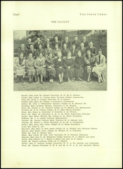 Page 10, 1937 Edition, Toms River South High School - Cedar Chest Yearbook (Toms River, NJ) online yearbook collection