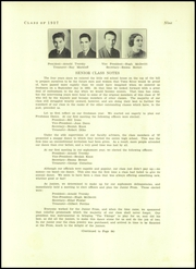 Page 11, 1937 Edition, Toms River South High School - Cedar Chest Yearbook (Toms River, NJ) online yearbook collection