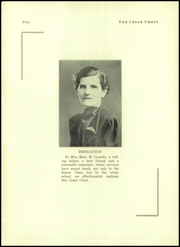 Page 6, 1937 Edition, Toms River South High School - Cedar Chest Yearbook (Toms River, NJ) online yearbook collection