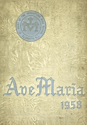 Page 1, 1958 Edition, St Marys High School - Ave Maria Yearbook (Elizabeth, NJ) online yearbook collection