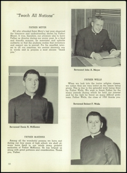 Page 14, 1958 Edition, St Marys High School - Ave Maria Yearbook (Elizabeth, NJ) online yearbook collection