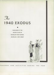 Page 7, 1940 Edition, Dunellen High School - Exodus Yearbook (Dunellen, NJ) online yearbook collection