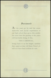 Page 6, 1936 Edition, St Peters High School - Petrean Yearbook (New Brunswick, NJ) online yearbook collection