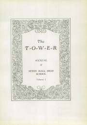 Page 9, 1930 Edition, Seton Hall Preparatory High School - Tower Yearbook (West Orange, NJ) online yearbook collection