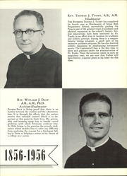 Page 13, 1956 Edition, Seton Hall Preparatory High School - Tower Yearbook (West Orange, NJ) online yearbook collection