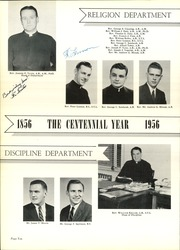 Page 14, 1956 Edition, Seton Hall Preparatory High School - Tower Yearbook (West Orange, NJ) online yearbook collection