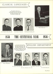 Page 15, 1956 Edition, Seton Hall Preparatory High School - Tower Yearbook (West Orange, NJ) online yearbook collection