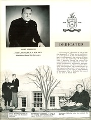 Page 12, 1958 Edition, Seton Hall Preparatory High School - Tower Yearbook (West Orange, NJ) online yearbook collection