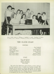 Page 10, 1958 Edition, Florence Township Memorial High School - Clavis Yearbook (Florence, NJ) online yearbook collection