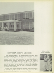 Page 9, 1958 Edition, Florence Township Memorial High School - Clavis Yearbook (Florence, NJ) online yearbook collection