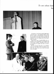 Page 6, 1967 Edition, St Josephs High School - Evergreen Yearbook (Metuchen, NJ) online yearbook collection