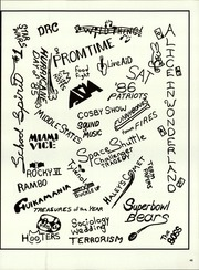 Page 53, 1986 Edition, North Warren High School - Patriot Yearbook (Blairstown, NJ) online yearbook collection