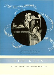 Page 6, 1949 Edition, Pope Pius XII Diocesan High School - Keys Yearbook (Passaic, NJ) online yearbook collection