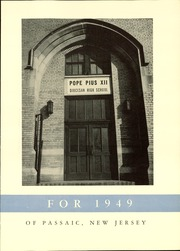 Page 7, 1949 Edition, Pope Pius XII Diocesan High School - Keys Yearbook (Passaic, NJ) online yearbook collection