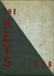 1958 Edition, Pope Pius XII Diocesan High School - Keys Yearbook (Passaic, NJ)