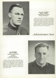 Page 12, 1960 Edition, Pope Pius XII Diocesan High School - Keys Yearbook (Passaic, NJ) online yearbook collection