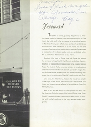 Page 7, 1960 Edition, Pope Pius XII Diocesan High School - Keys Yearbook (Passaic, NJ) online yearbook collection