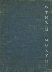 1934 Edition, St Marys High School - Veritas Yearbook (Rutherford, NJ)
