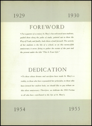 Page 6, 1955 Edition, St Marys High School - Veritas Yearbook (Rutherford, NJ) online yearbook collection