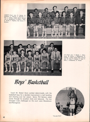 Page 46, 1958 Edition, Clayton High School - Clipper Yearbook (Clayton, NJ) online yearbook collection