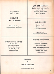 Page 67, 1958 Edition, Clayton High School - Clipper Yearbook (Clayton, NJ) online yearbook collection