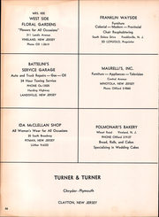 Page 70, 1958 Edition, Clayton High School - Clipper Yearbook (Clayton, NJ) online yearbook collection