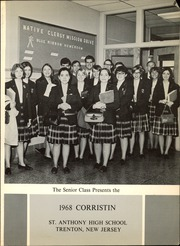 Page 5, 1968 Edition, Trenton Catholic Academy - Corristin Yearbook (Trenton, NJ) online yearbook collection