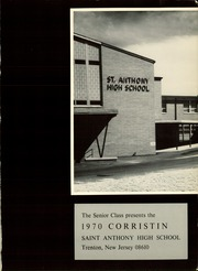 Page 5, 1970 Edition, Trenton Catholic Academy - Corristin Yearbook (Trenton, NJ) online yearbook collection