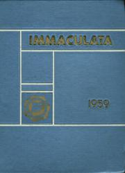 1959 Edition, Immaculate Conception High School - Yearbook (Montclair, NJ)