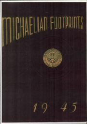 1945 Edition, St Michaels High School - Footprints Yearbook (Union City, NJ)