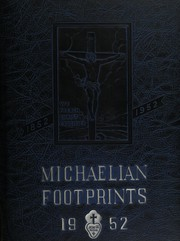 Page 1, 1952 Edition, St Michaels High School - Footprints Yearbook (Union City, NJ) online yearbook collection