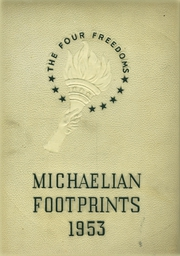 1953 Edition, St Michaels High School - Footprints Yearbook (Union City, NJ)