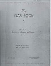 Page 1, 1937 Edition, Red Bank High School - Log Yearbook (Red Bank, NJ) online yearbook collection